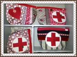 Klassische Erste-Hilfe-Taschen mit Reißverschluss